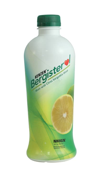 picture of Nikken product Bergisterol that lowers cholesterol, blood sugar and triglcerides