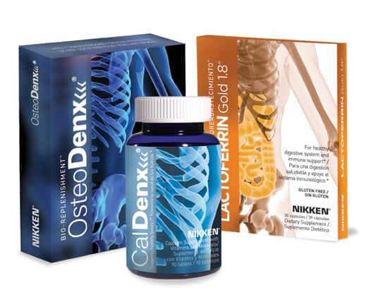 Picture showing Osteodenx bone health program, stress reduction for the bones