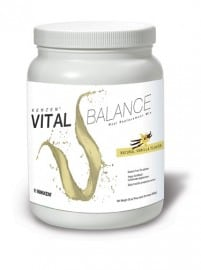 picture of Nikken product Kenzen Vital Balance protein shake/meal replacement for weight management, adn cognitive and blood sugar support