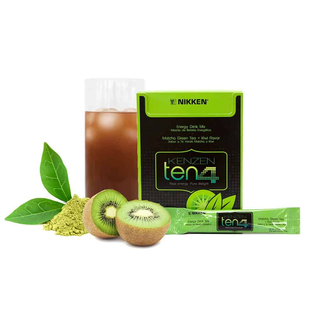 picture of Nikken product Kenzen Ten4 healthy energy drink for taste, energy and laser focus