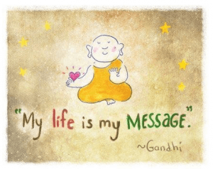 my life is my message- surrender