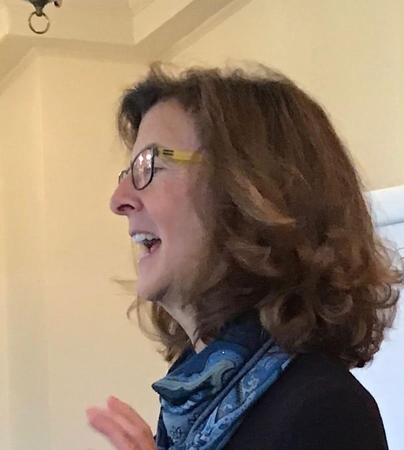 Nancy as keynote speaker